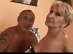 Blowjob, Cumshot, Granny, Mature, Old and Young