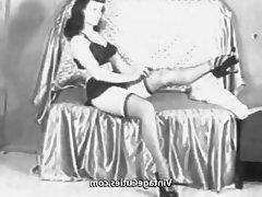 Pornstar, Stockings, Vintage, Voyeur