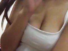Amateur, Asian, Big Boobs, Nipples
