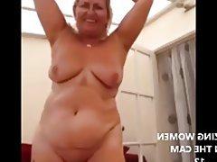 Granny, MILF, Mature, Big Boobs, Webcam