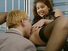 Anal, Brunette, German, Stockings