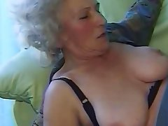 Granny, Amateur, Blowjob, Hairy