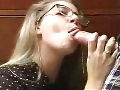 Amateur, Blonde, Blowjob, Cumshot, Old and Young