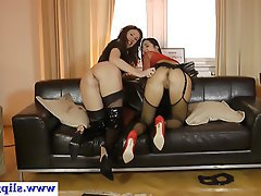 Amateur, Old and Young, Stockings