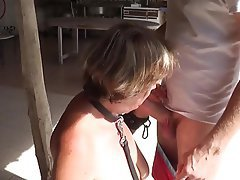 BDSM, Cum in mouth, Cumshot, Mature, BDSM
