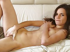 Brunette, Hairy, Masturbation, Teen