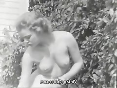 Teen, Vintage, Outdoor, Nudist