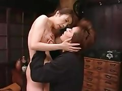 Cum in mouth, Japanese, Mature, Old and Young, Small Tits