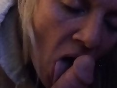 Amateur, Blonde, Blowjob, Close Up