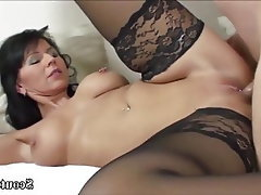 Teen, Stockings, MILF, Old and Young