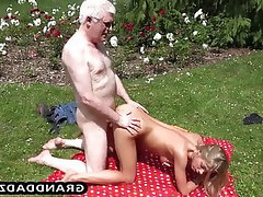 Babe, Teen, Teen, Massage, Outdoor