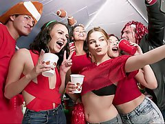 College, Coed, Student, Party