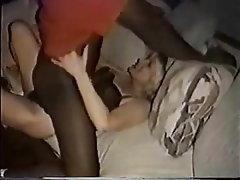 Blonde, Blowjob, Interracial, MILF, Cum in mouth