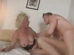 Blowjob, Cumshot, Czech, Granny, Old and Young