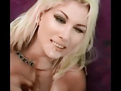 Blonde, Cumshot, Facial, Pornstar, POV
