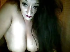 Amateur, Big Boobs, Brunette, Stockings, Webcam