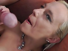 Amateur, Blonde, Cumshot, Facial, Handjob