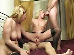 Blonde, Group Sex, Hardcore, Italian, MILF