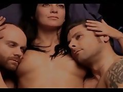 Brunette, Group Sex, Celebrity, Threesome, Softcore