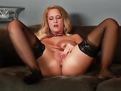 Babe, Big Tits, Panties, Stockings, Teen