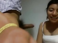 Blowjob, Indian, Webcam