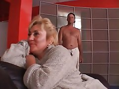 Big Boobs, Blowjob, Cumshot, Granny, Old and Young