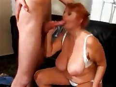 Cumshot, Granny, Old and Young