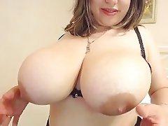 Big Boobs, Blonde, Webcam