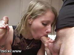 Amateur, Blonde, Double Penetration, French